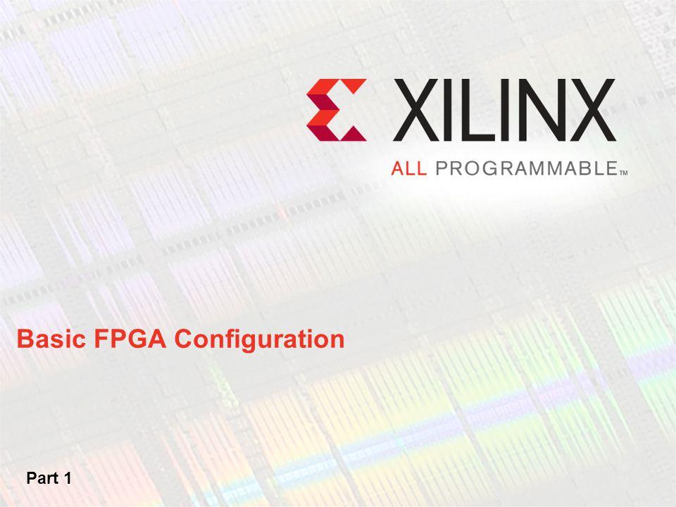 Basic FPGA Configuration