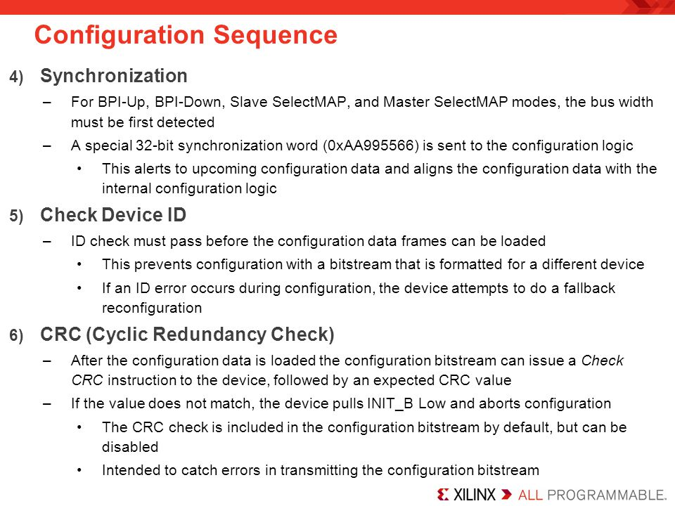 Configuration Sequence