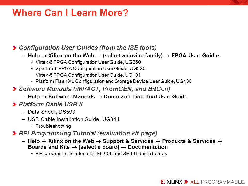 Where Can I Learn More Configuration User Guides (from the ISE tools)