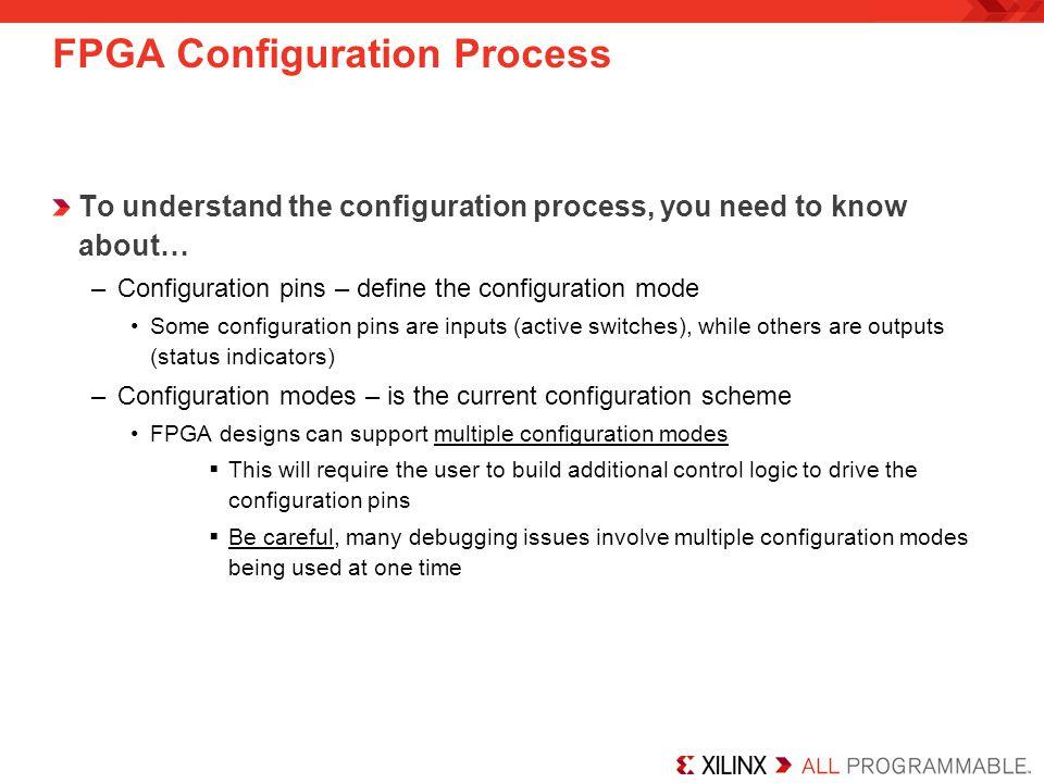 FPGA Configuration Process