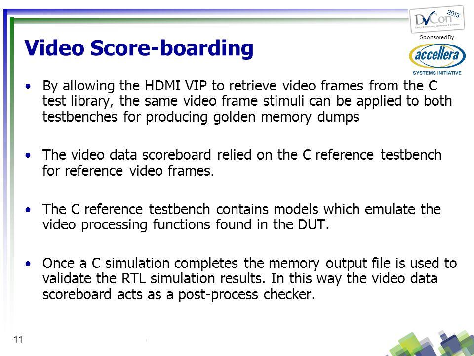 Video Score-boarding