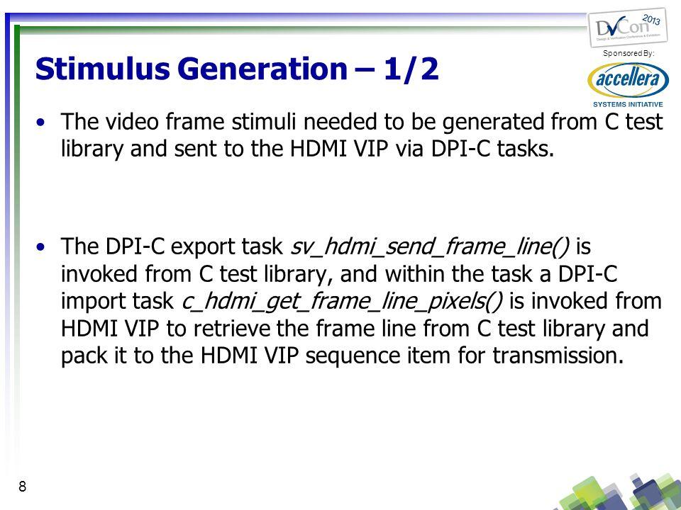 Stimulus Generation – 1/2