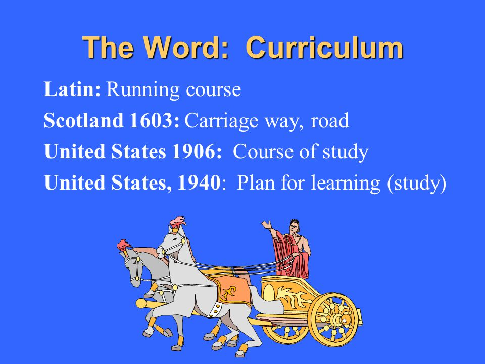 The Word: Curriculum Latin: Running course