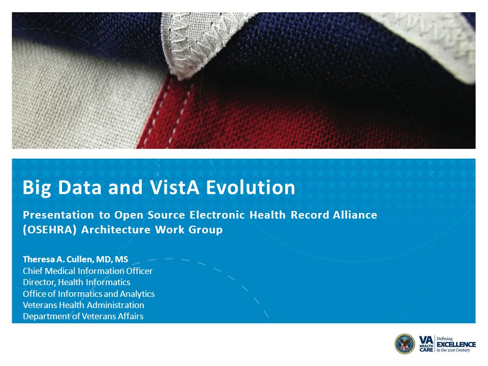 Big Data and VistA Evolution