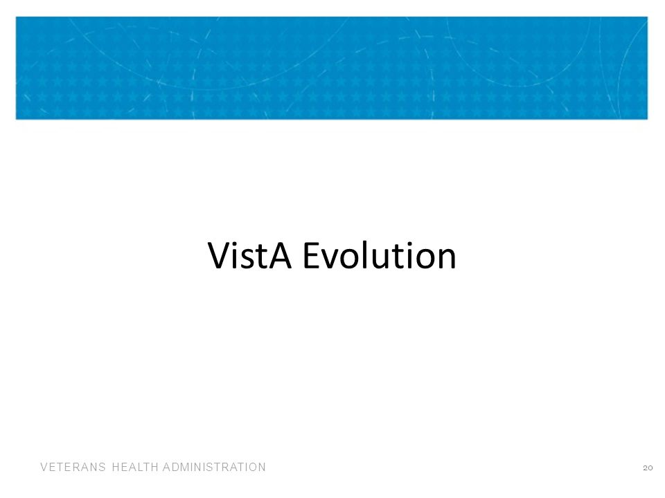 VistA Evolution
