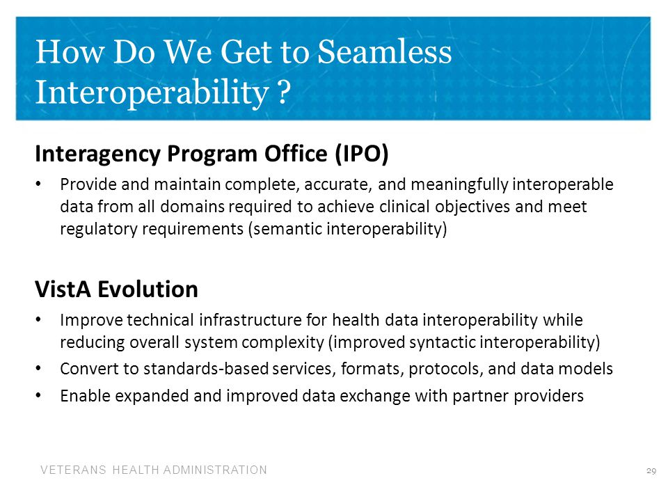 How Do We Get to Seamless Interoperability