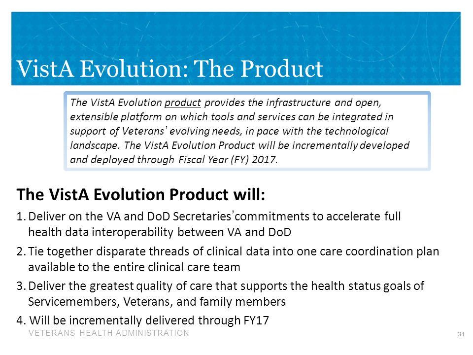 VistA Evolution: The Product