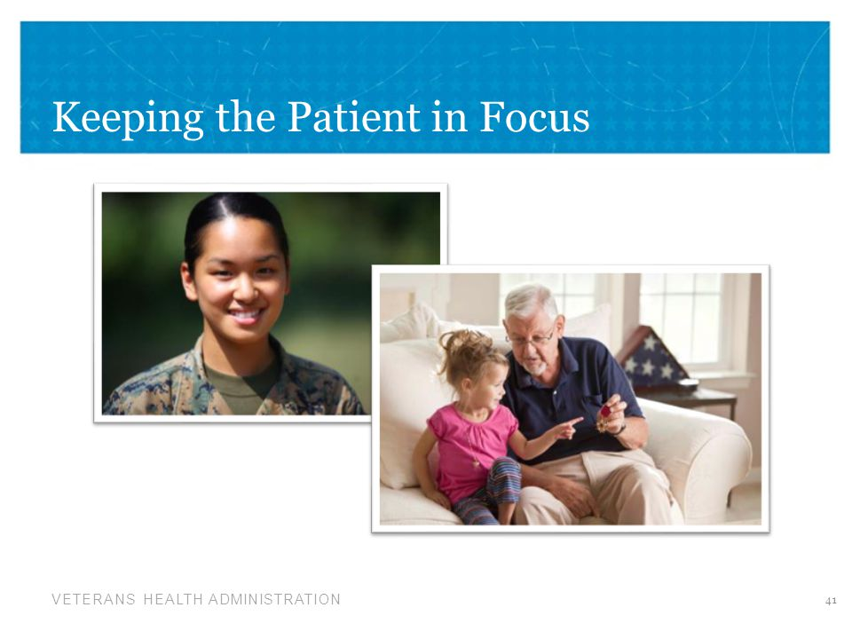 Keeping the Patient in Focus