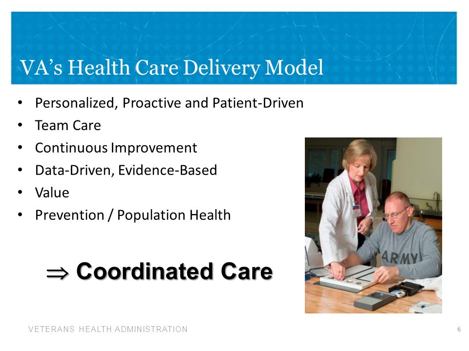 VA's Health Care Delivery Model