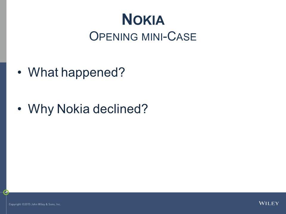 Nokia Opening mini-Case