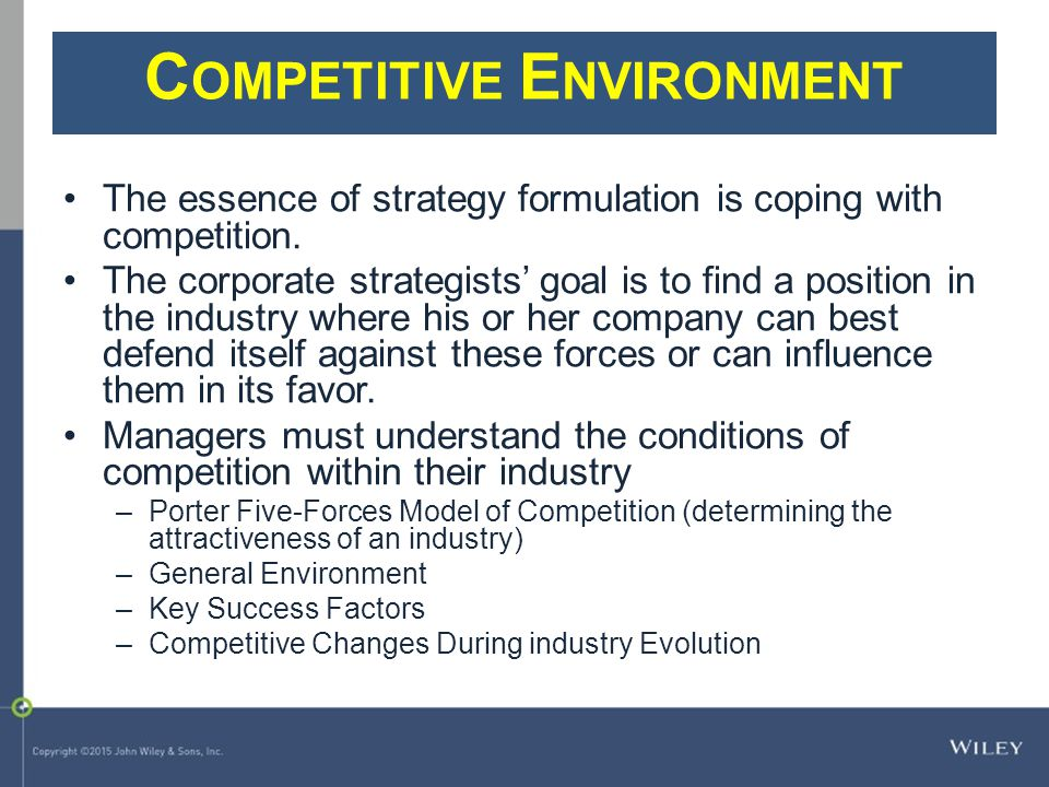 burberry analysis of the competitive environment
