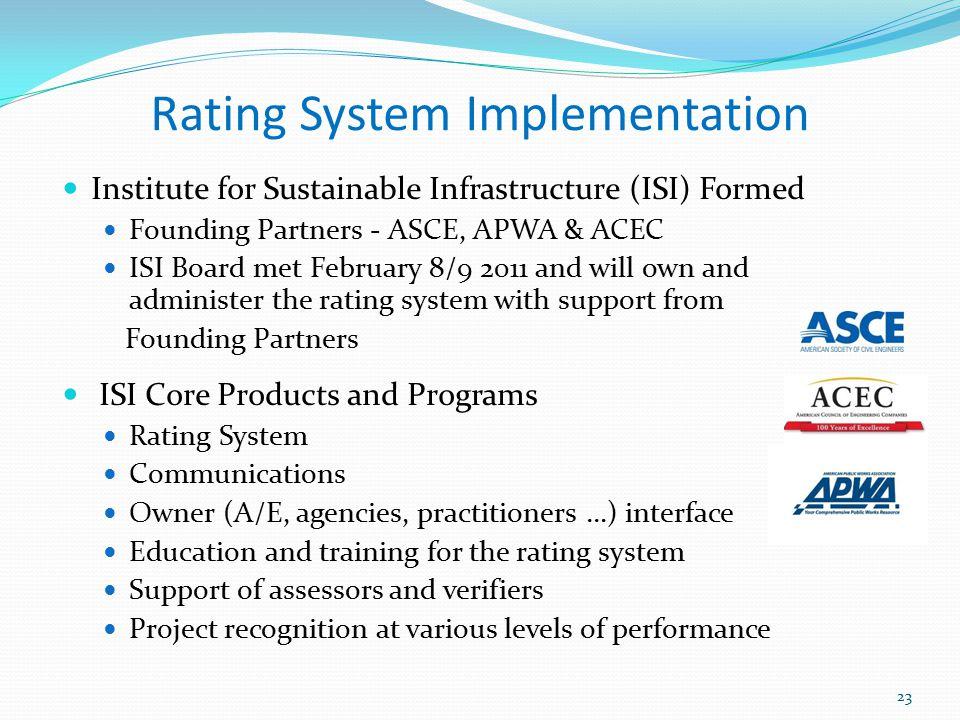 Rating System Implementation