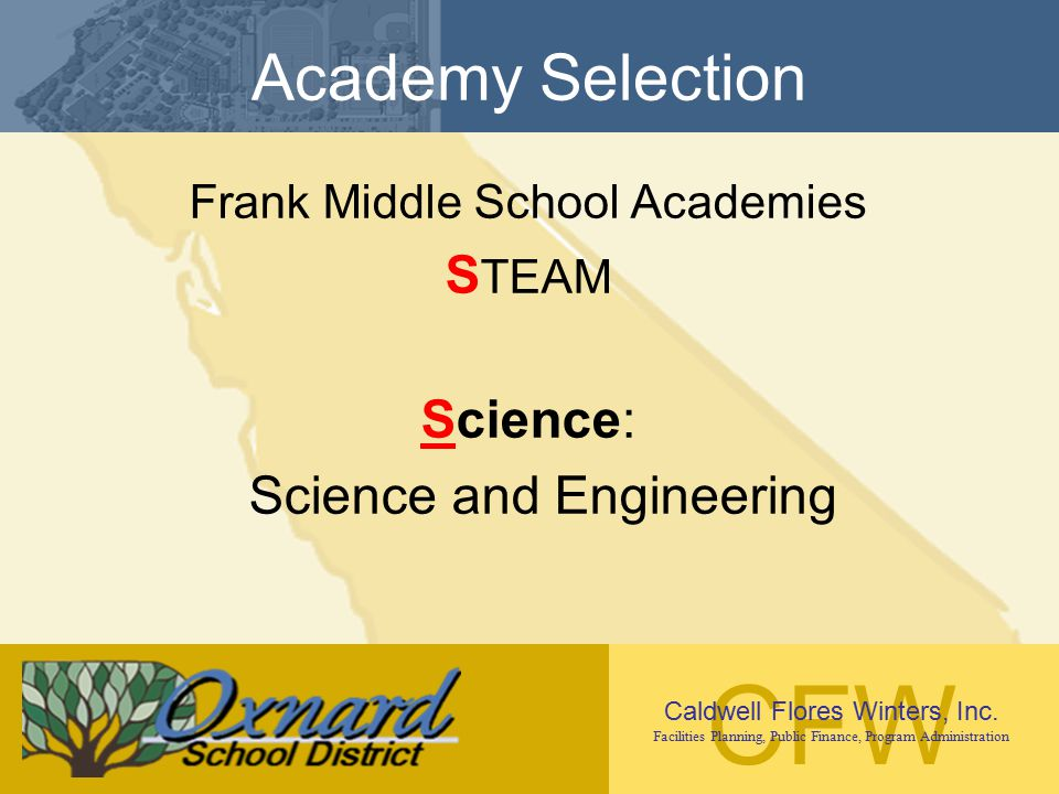 Academy Selection STEAM Science: Science and Engineering