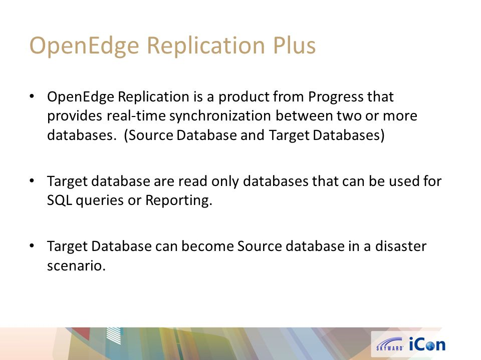 synchronization between database