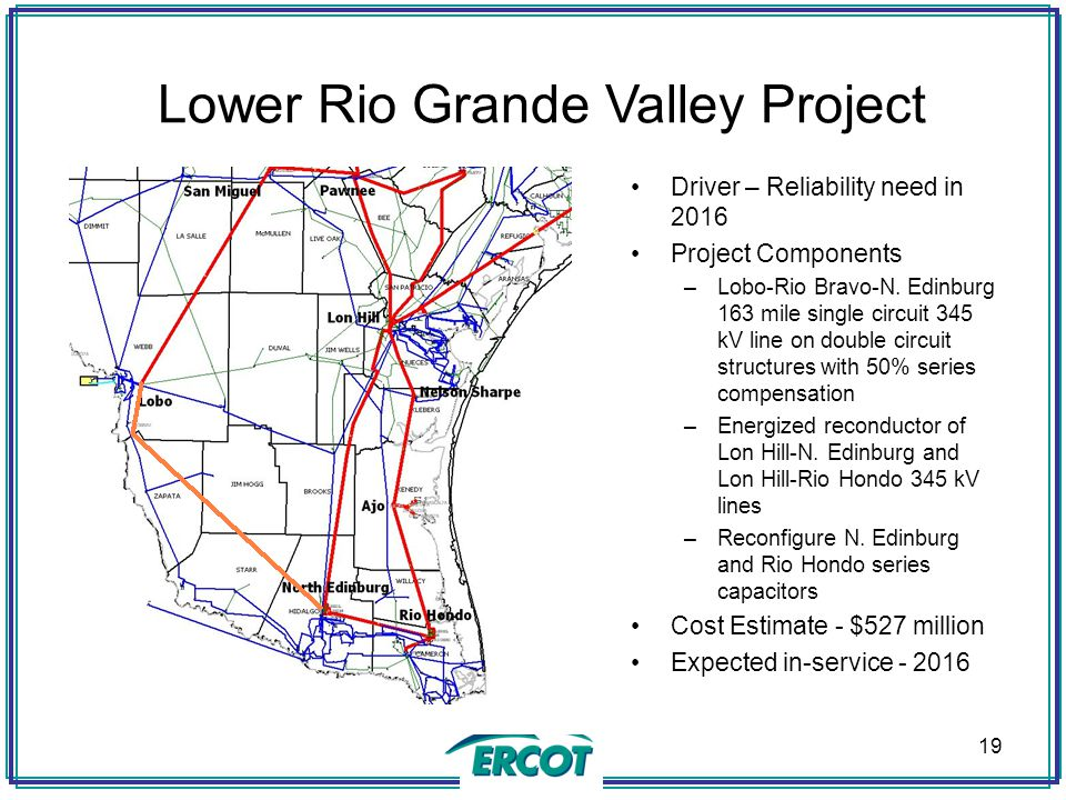 Lower Rio Grande Valley Project