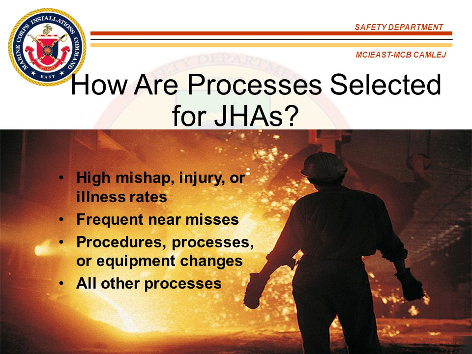 How Are Processes Selected for JHAs