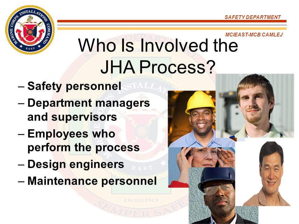 Who Is Involved the JHA Process