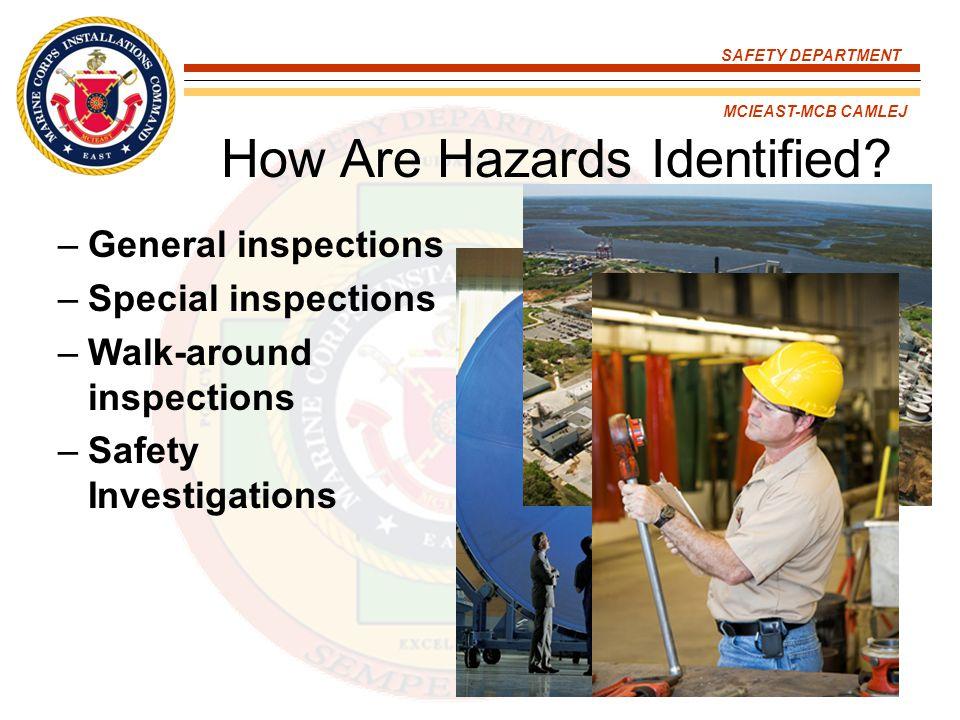 How Are Hazards Identified