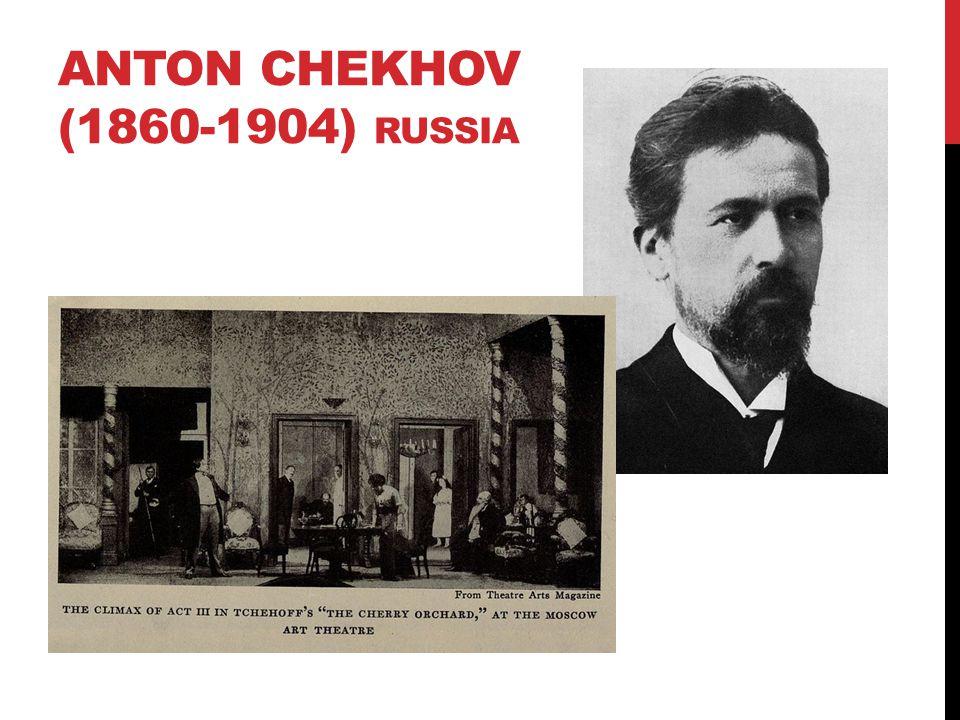 Anton chekhov (1860-1904) Russia