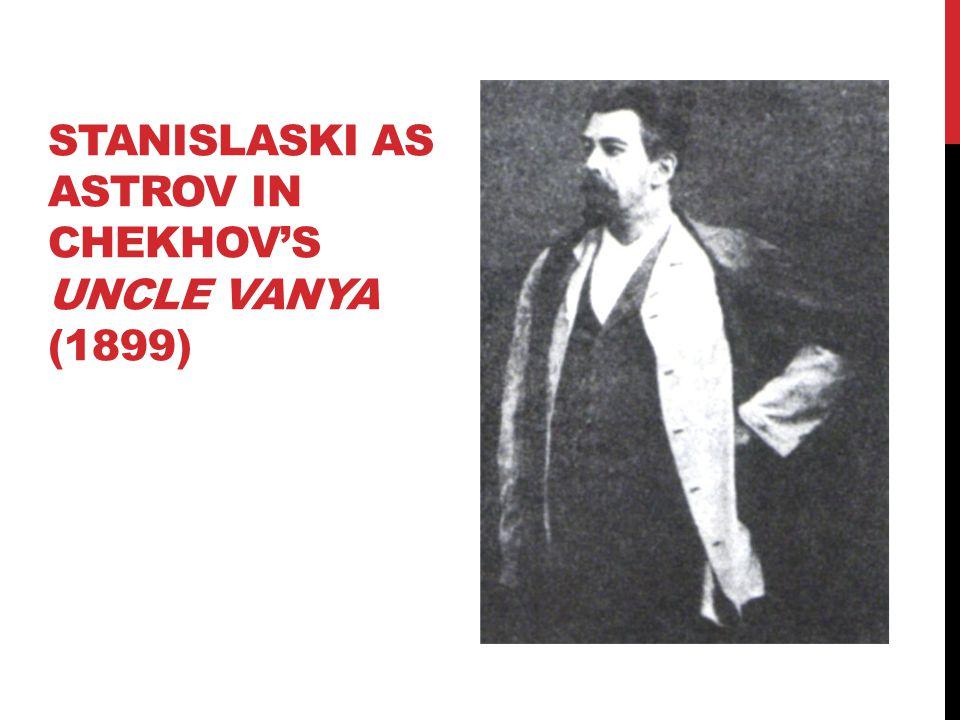 Stanislaski as astrov in chekhov's uncle vanya (1899)