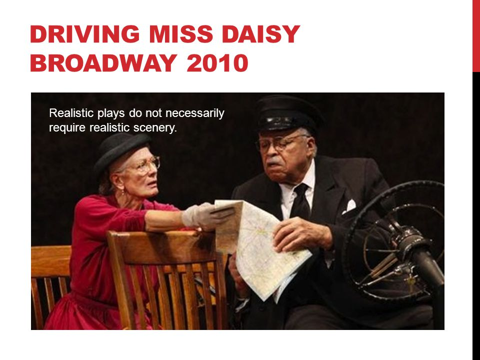DRIVING MISS DAISY BROADWAY 2010