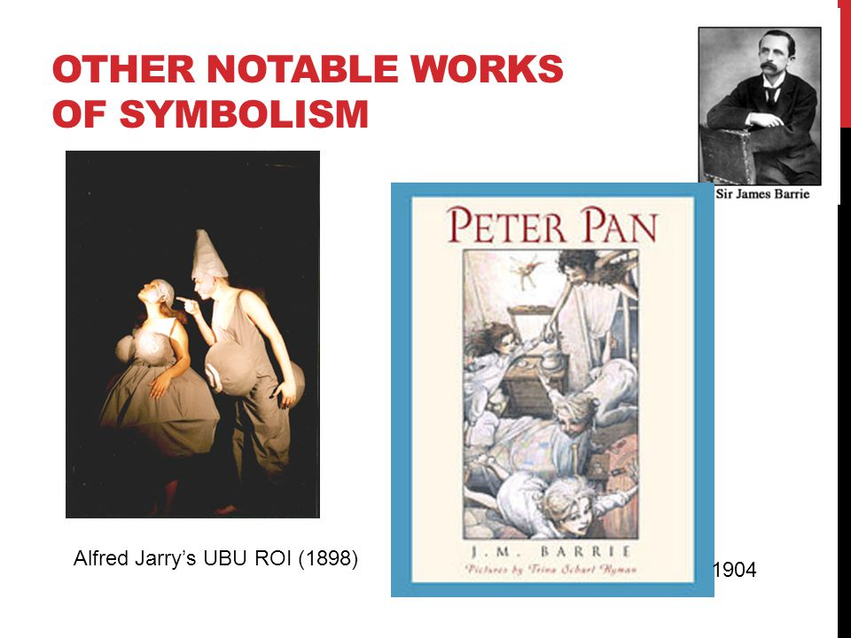 Other notablE WORKS OF SYMBOLISM