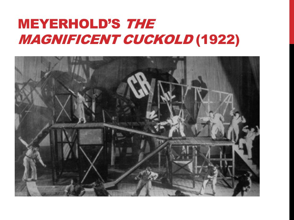 Meyerhold's The Magnificent Cuckold (1922)