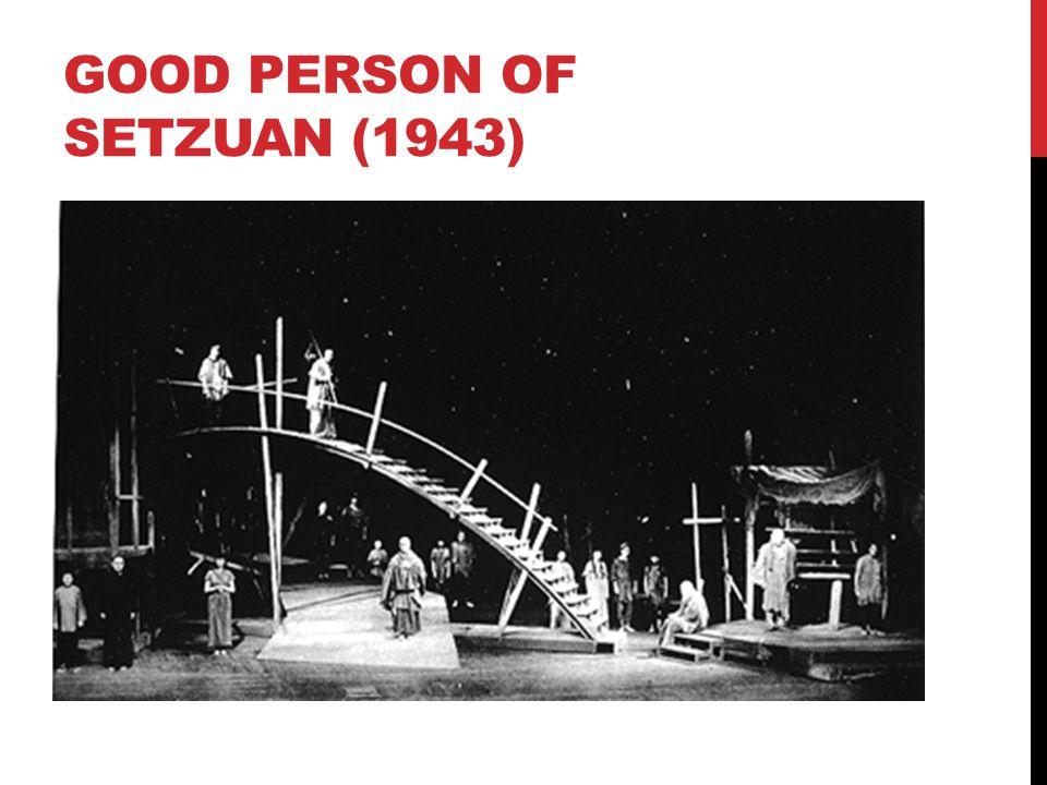 GOOD PERSON OF SETZUAN (1943)