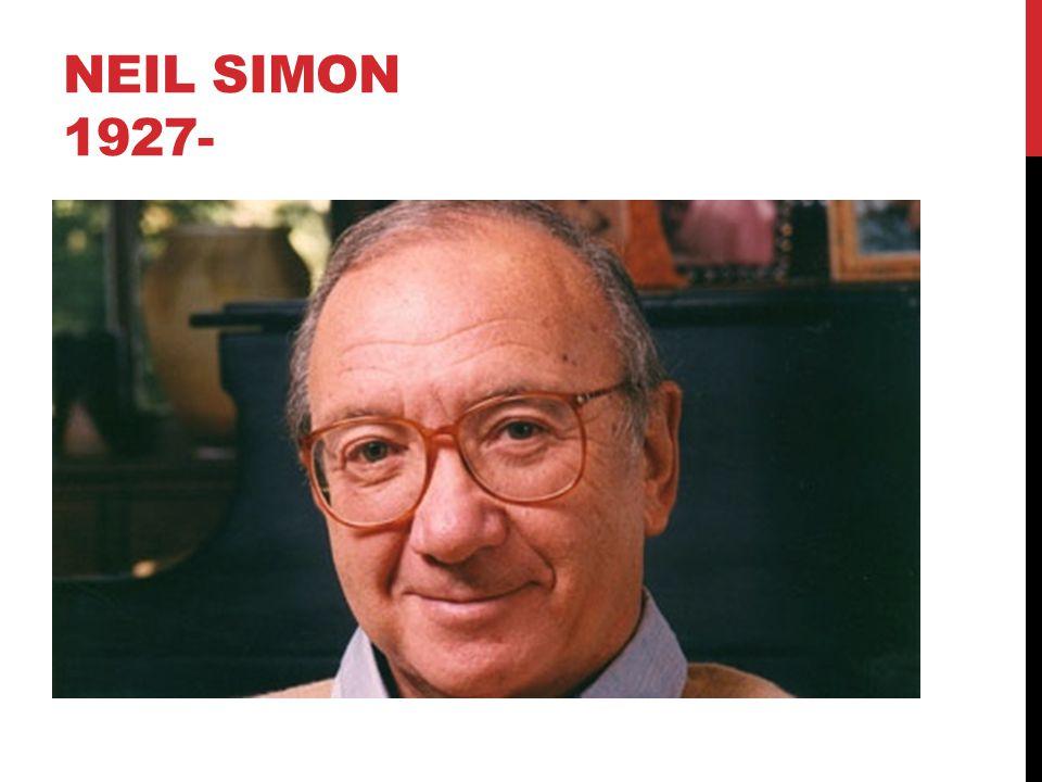 Neil SIMON 1927-