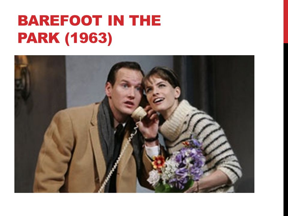 Barefoot in the park (1963)