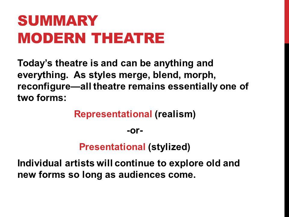 Summary MODERN THEATRE