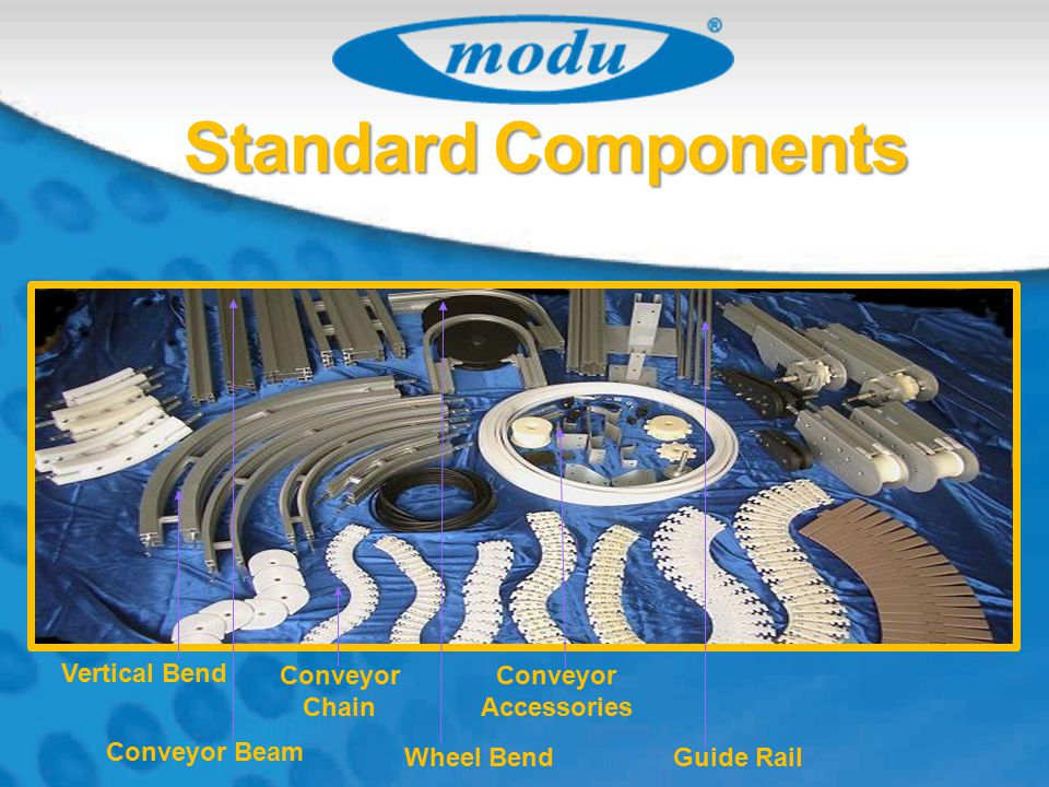 Standard Components Vertical Bend Conveyor Chain Conveyor Accessories