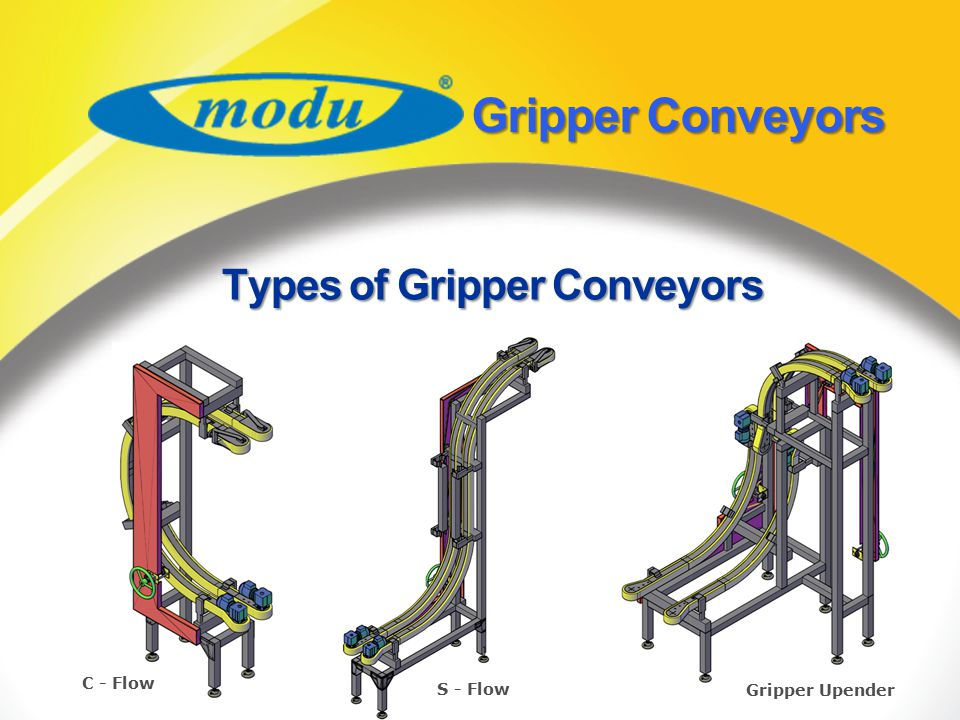 Types of Gripper Conveyors