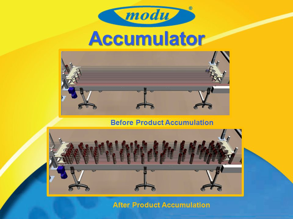 Accumulator Before Product Accumulation After Product Accumulation