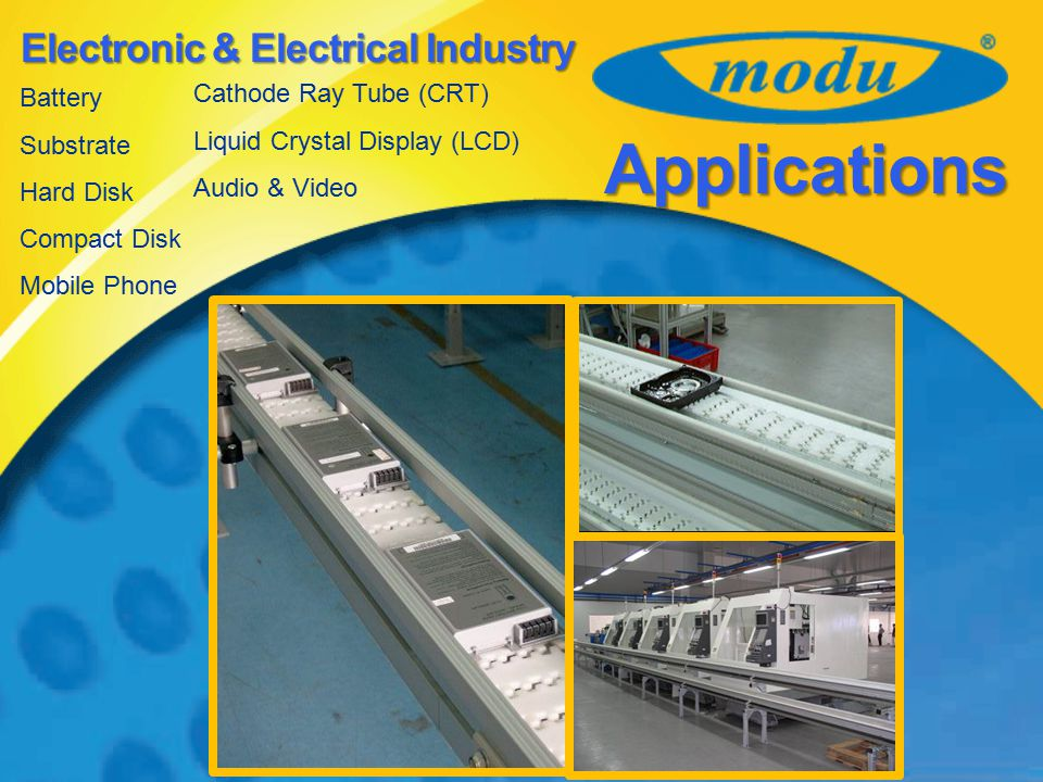 Applications Electronic & Electrical Industry Cathode Ray Tube (CRT)