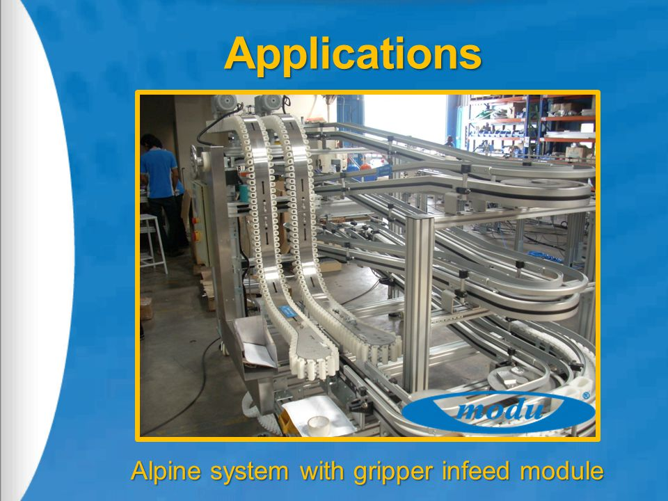 Alpine system with gripper infeed module