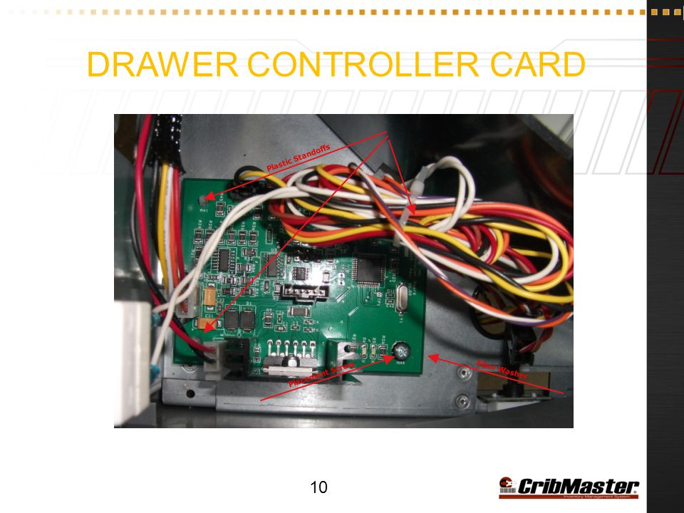 Drawer Controller Card