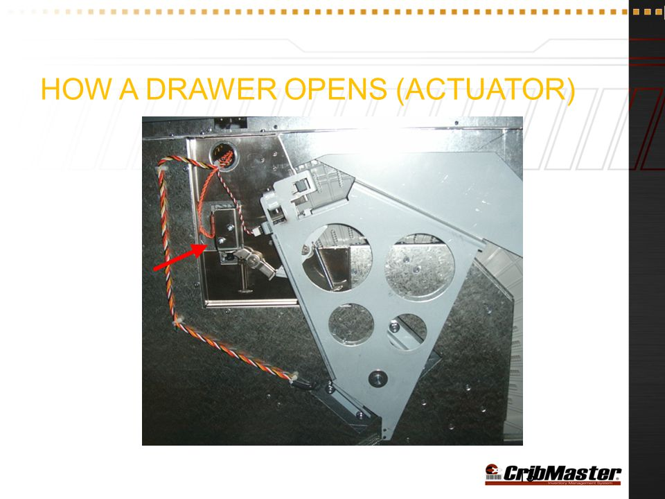 How a Drawer Opens (Actuator)