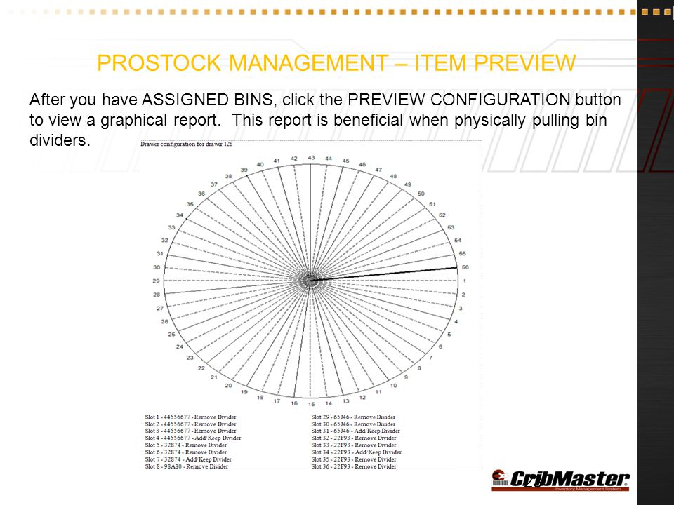 ProStock Management – Item Preview
