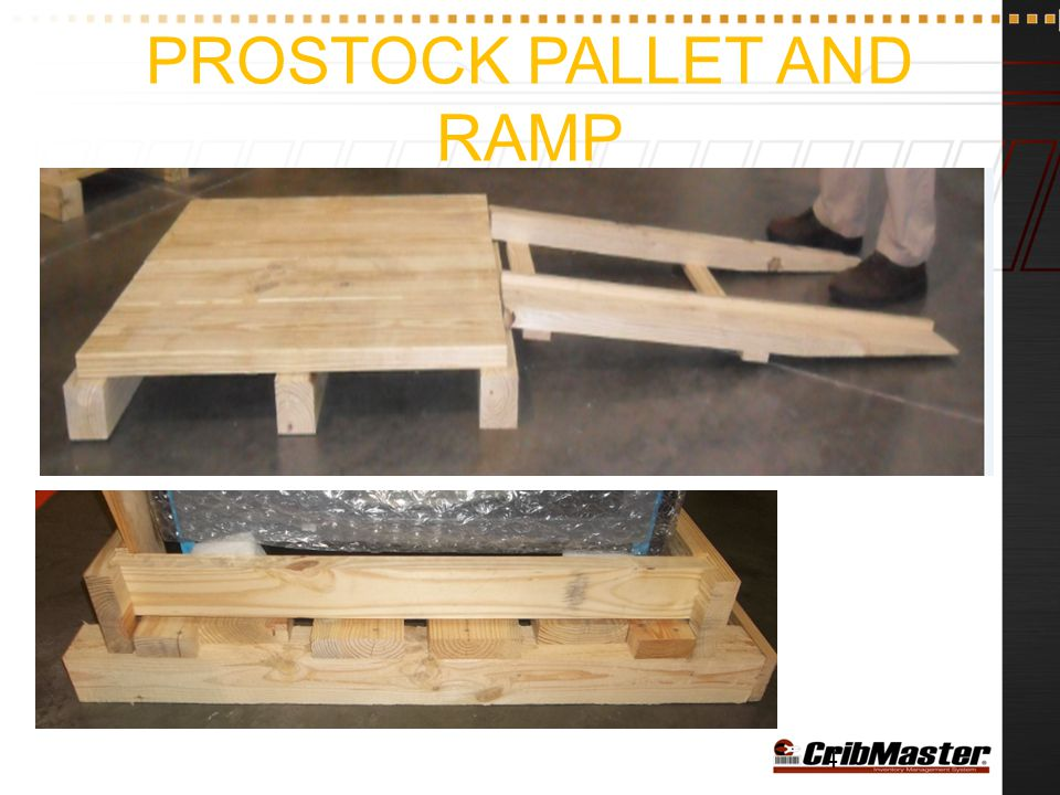 ProStock Pallet and Ramp