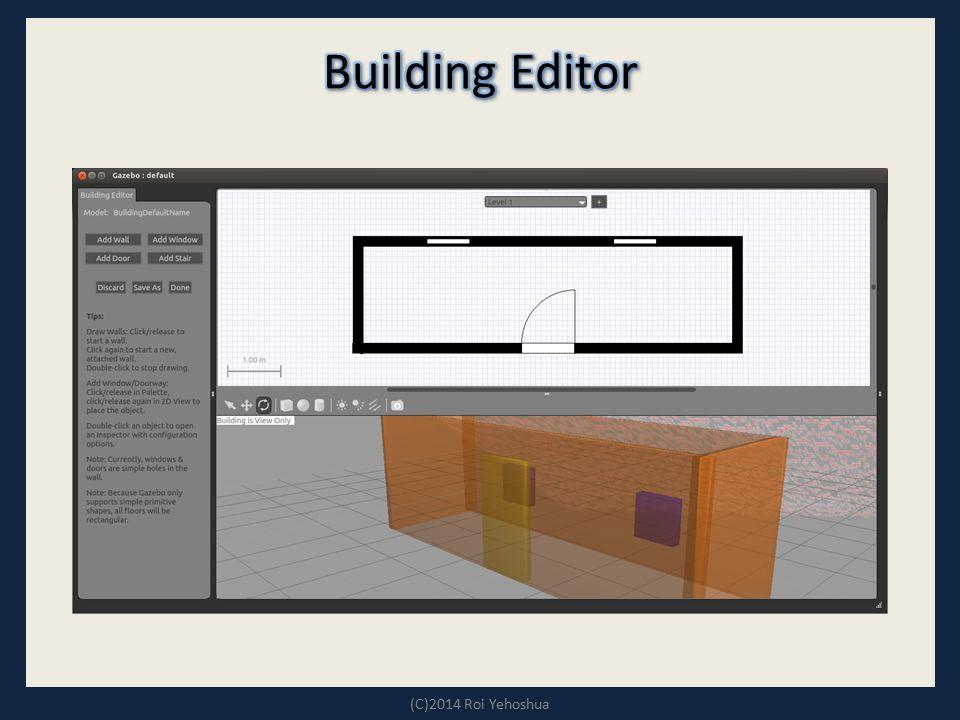 Building Editor (C)2014 Roi Yehoshua