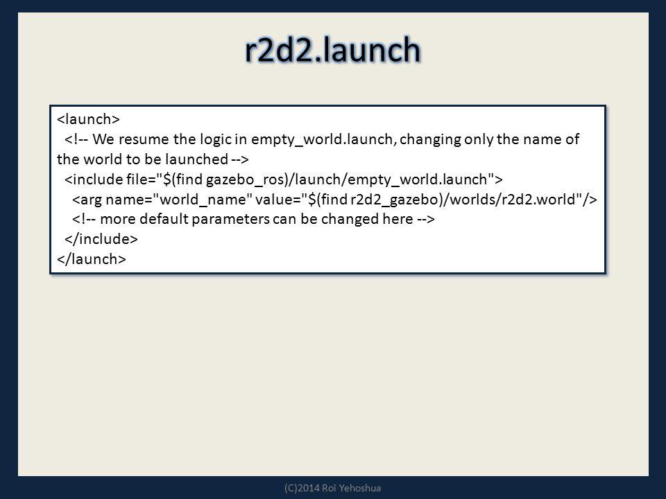 r2d2.launch <launch>