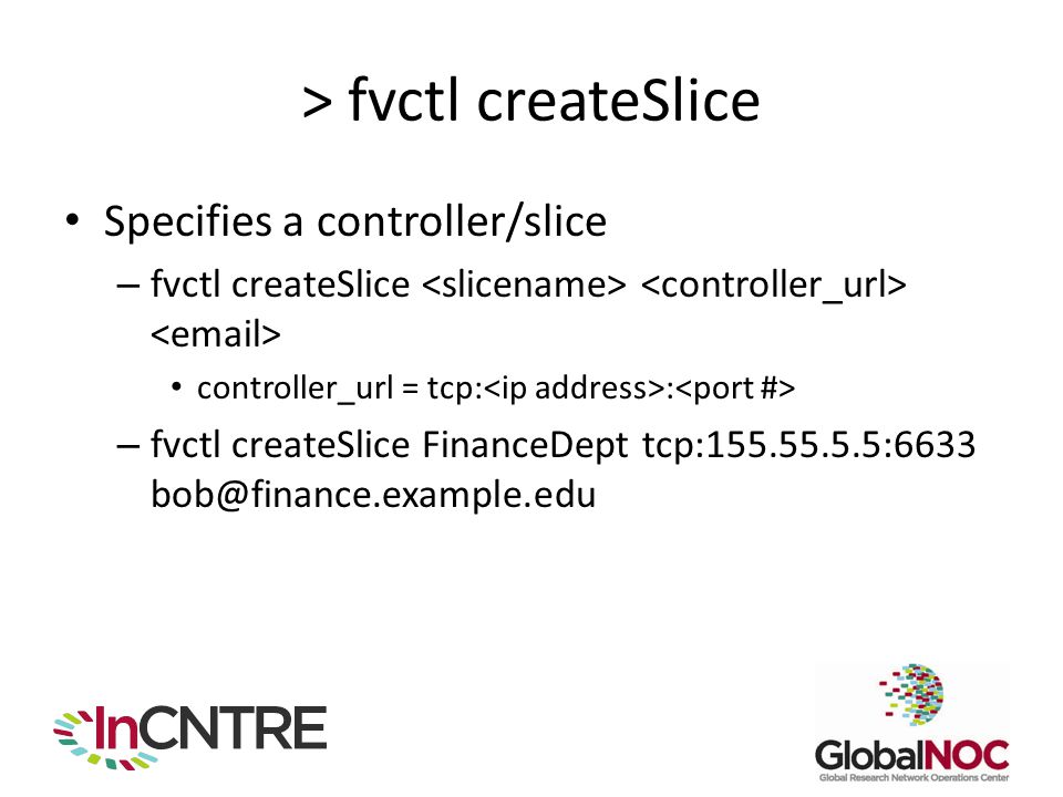 > fvctl createSlice