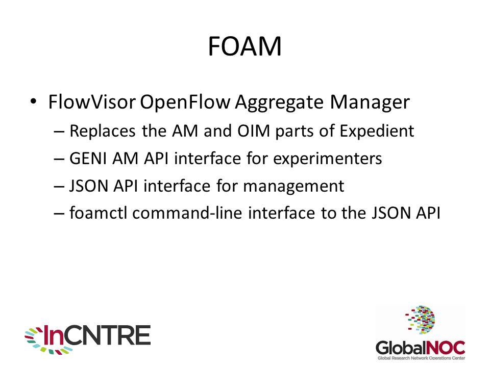 FOAM FlowVisor OpenFlow Aggregate Manager