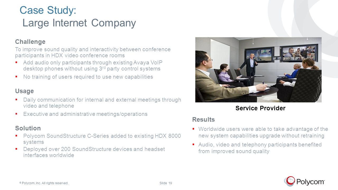 Case Study: Large Internet Company