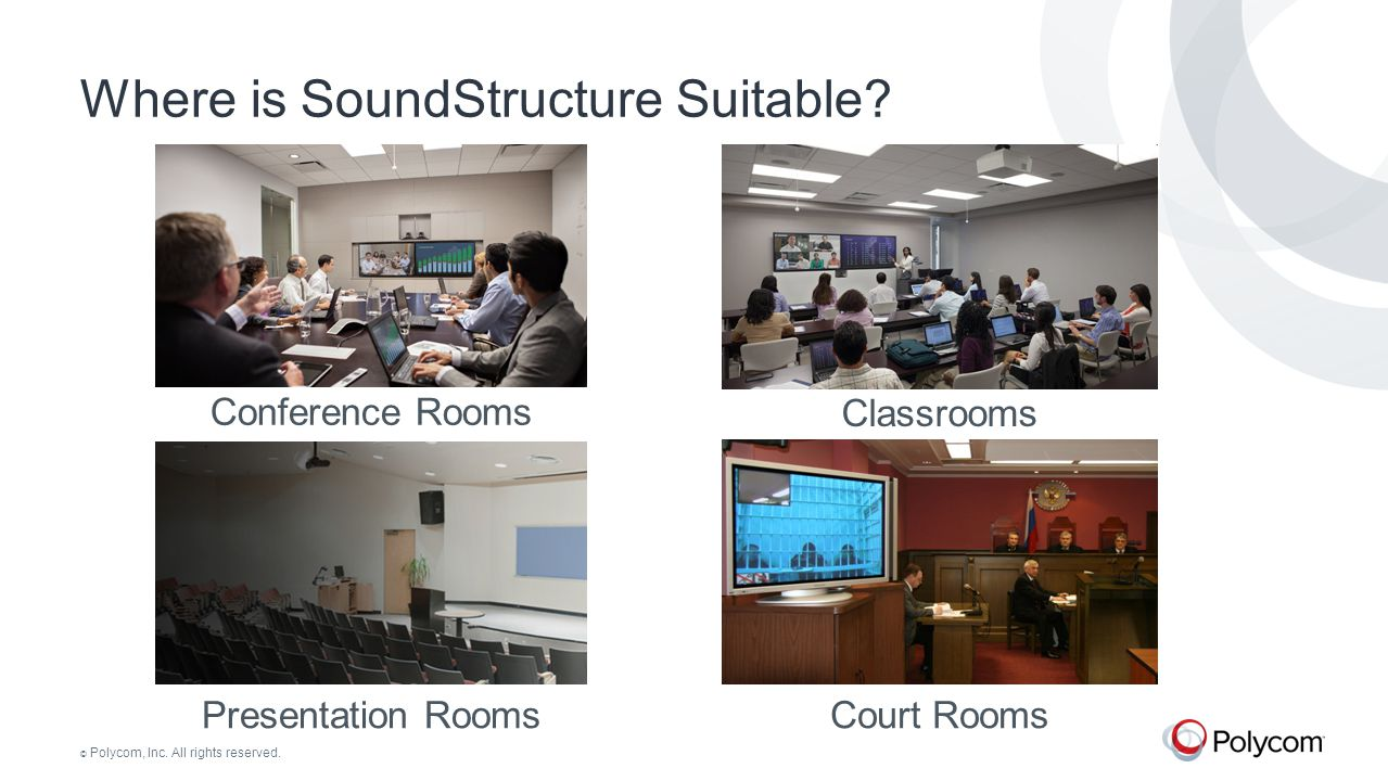Where is SoundStructure Suitable