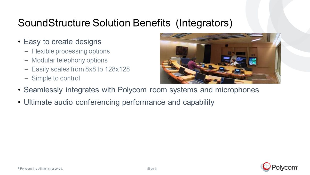 SoundStructure Solution Benefits (Integrators)