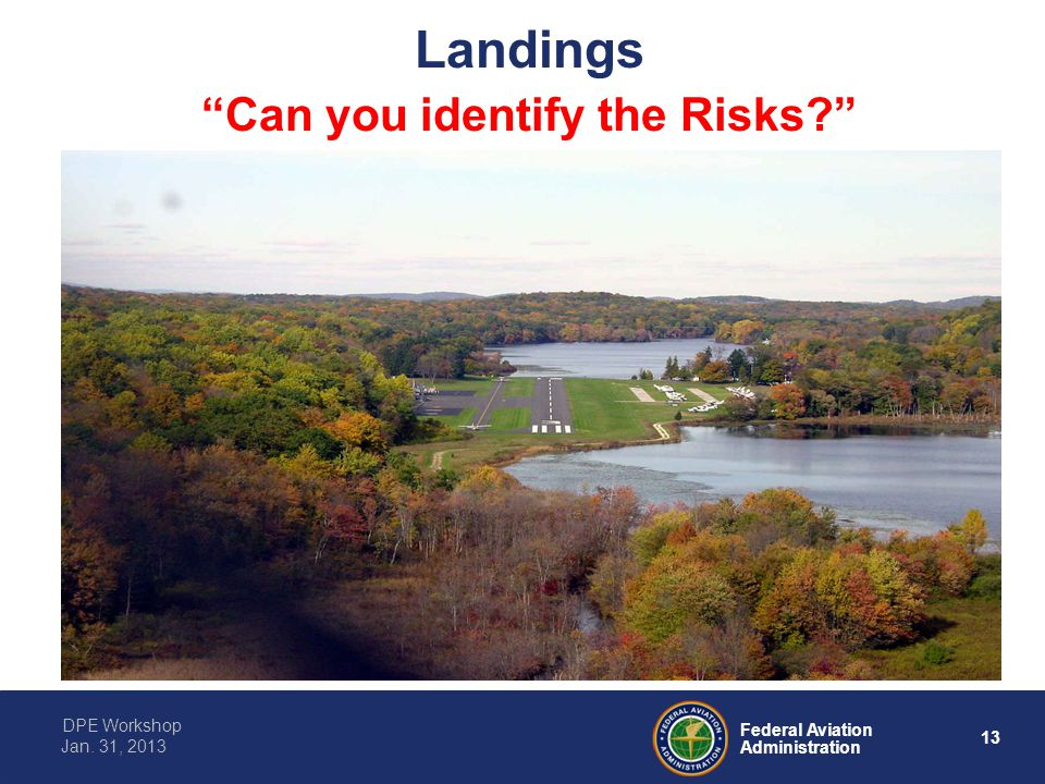 Landings Can you identify the Risks