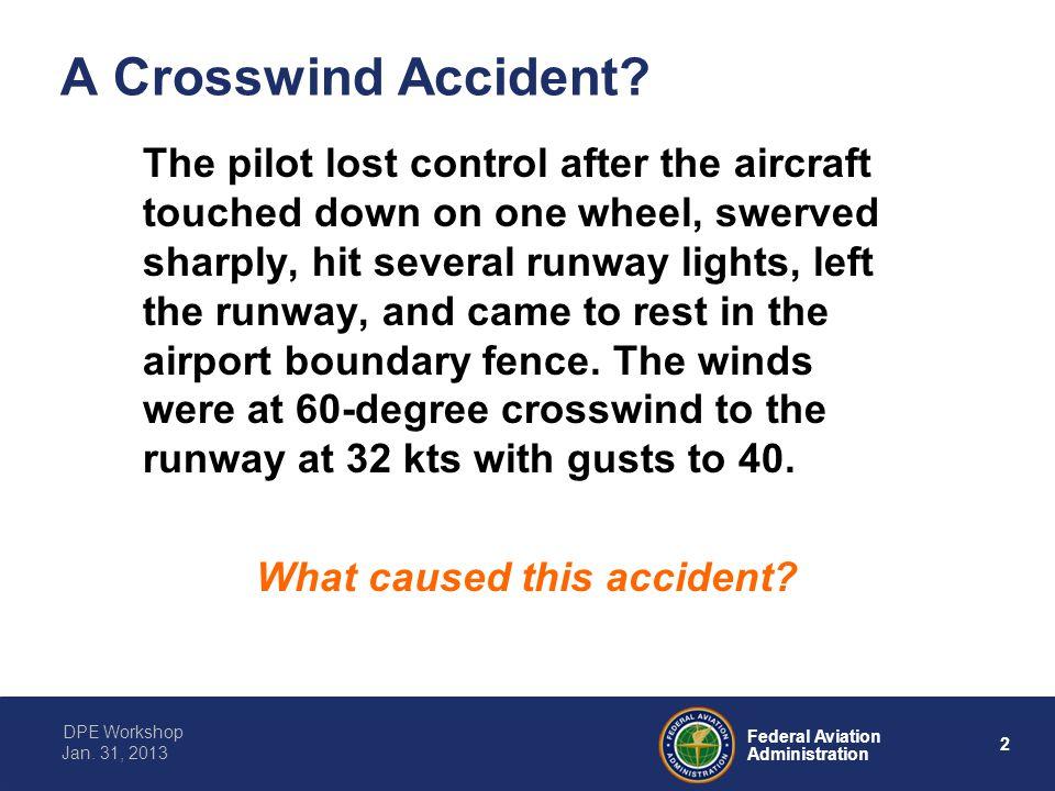 A Crosswind Accident