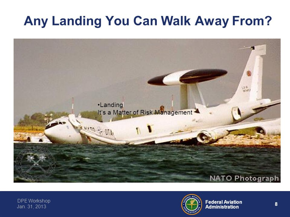 Any Landing You Can Walk Away From